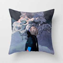 It Was Christmas Day Throw Pillow