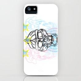 Gorilla Skull with Mandril Skulls iPhone Case