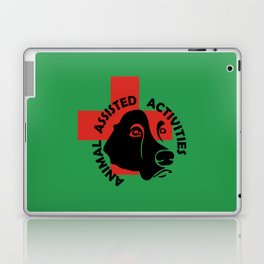 Animal Assisted Activities  - THERAPY DOG logo 7 Laptop & iPad Skin