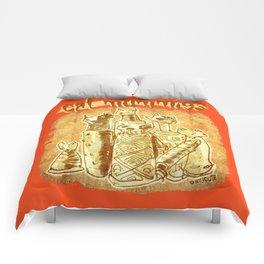 cat mummies Comforters