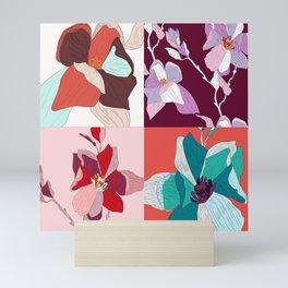 Cherry Floral Mini Art Print
