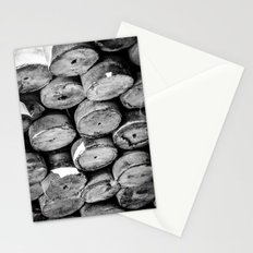Abstract Concrete Rounds Stationery Cards