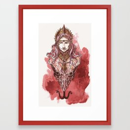 Red Prince Framed Art Print