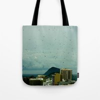 brazil Tote Bags featuring brazil by SUKI TAM