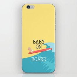 Baby On Board iPhone Skin