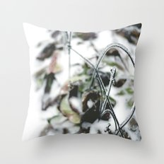 Winter. Throw Pillow