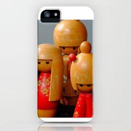 Jpanese Dolls iPhone Case