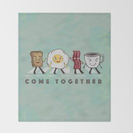 Come Together Throw Blanket