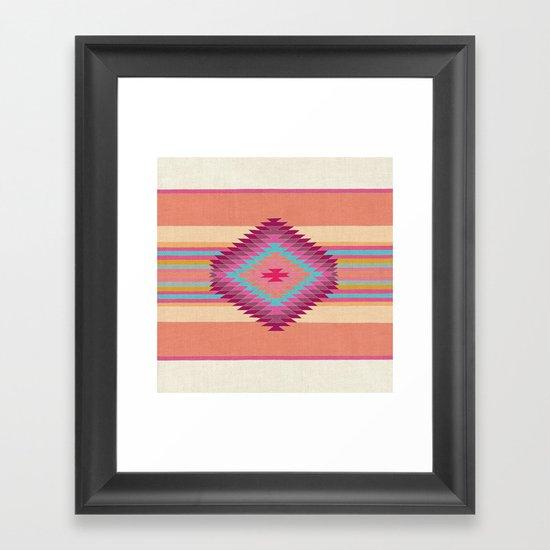 FIESTA (pink) Framed Art Print