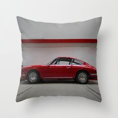 Porsche 911 / II Throw Pillow