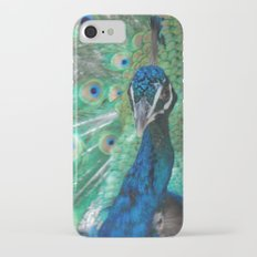 Let Me See Your Peacock iPhone 8 Slim Case