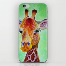 Colorful Giraffe iPhone Skin