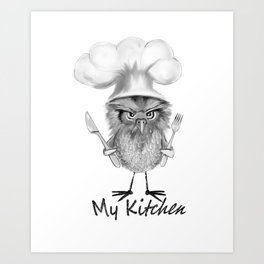 My Kitchen Art Print