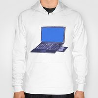 laptop Hoodies featuring  Laptop  by Sofia Youshi