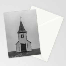 Old Church in Iceland Stationery Cards