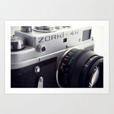 Zorki  Art Print