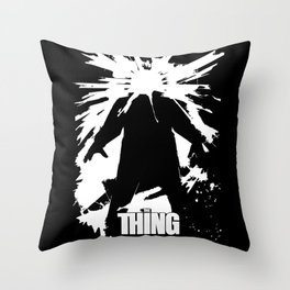 The Thing - John Carpenter Throw Pillow