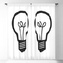 Simple Light Bulb Blackout Curtain