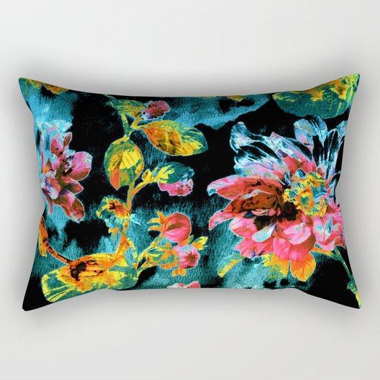 double floral Rectangular Pillow