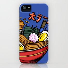 The Great Ramen iPhone Case