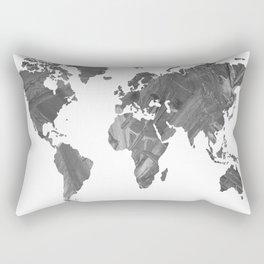 MAP-B&W Freedom vibes worldwide Rectangular Pillow