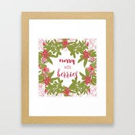 Christmas mood Framed Art Print