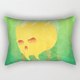 Drowning Skull Rectangular Pillow