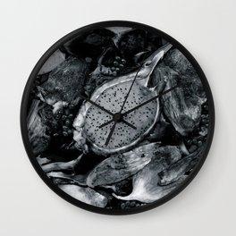 Memento Mori I Wall Clock