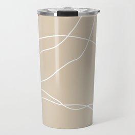 LINEE DI VITA - The lines of life - Modern abstract art hand drawn Travel Mug