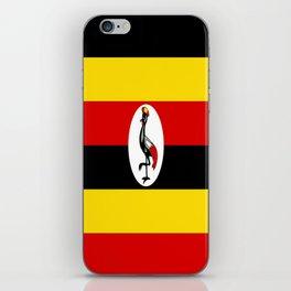 Flag of Ugandan iPhone Skin
