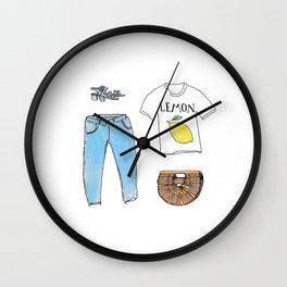 summer kit Wall Clock