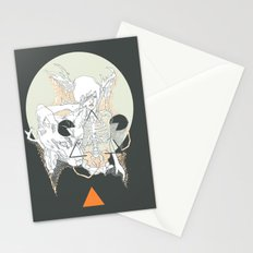 moon stone Stationery Cards