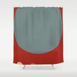 Mid Century Modern Vintage 14 Shower Curtain
