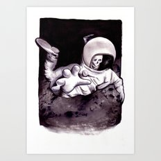 Bastard Sons In Space Art Print