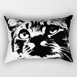 CAT METAL : Lucifurr - SIGIL Rectangular Pillow