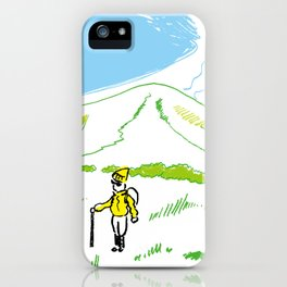 Trekking iPhone Case