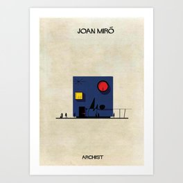 Joan Miró Art Print