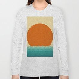 Minimalist Landscape IV Long Sleeve T-shirt