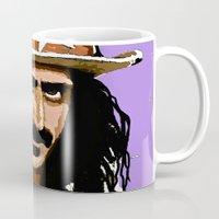zappa Mugs featuring Zappa by Saundra Myles