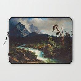 Western Landscape by Albert Bierstadt Laptop Sleeve