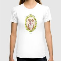 pit bull T-shirts featuring Remy the Pit Bull by Alina Bachmann