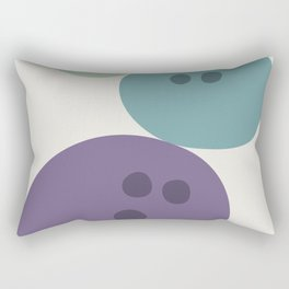Abstract No.15 Bowling Balls Rectangular Pillow