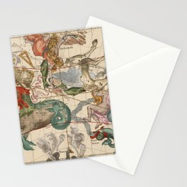 Constellations Andromeda, Pegasus, Cetus and Aries Stationery Cards