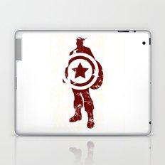 Superheroes minimalist - Simply red Laptop & iPad Skin