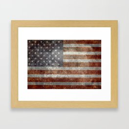 Old Glory, The Star Spangled Banner Framed Art Print