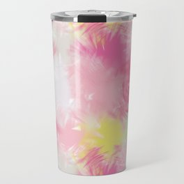 Blurred Blend - Pink Travel Mug