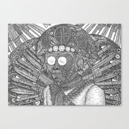 Lampião Canvas Print