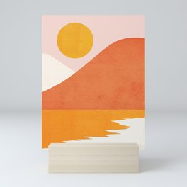 Abstraction_SEASIDE Mini Art Print
