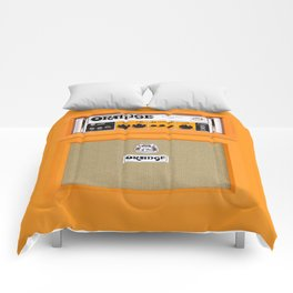 Bright Orange color amplifier amp Comforters