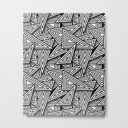 Triangle Funk Metal Print